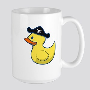 Pirate Duck Large Mug