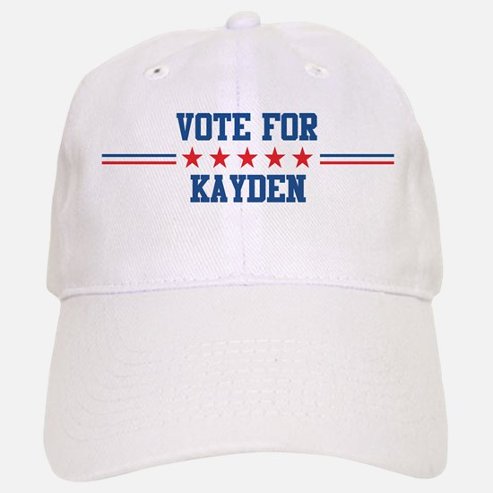 Vote for KAYDEN Baseball Baseball Cap