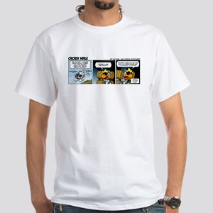 0594 - Report traffic in sight White T-Shirt