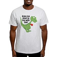 Arms Too Short Dinosaur Light T-Shirt