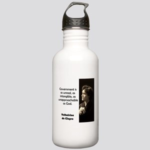 Government Is As Unreal - de Cleyre Water Bottle