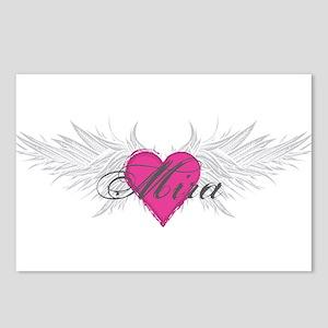 Mira-angel-wings.png Postcards (Package of 8)