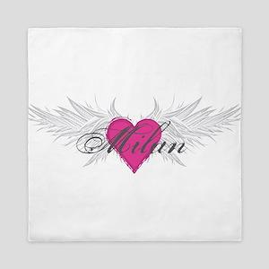 Milan-angel-wings Queen Duvet