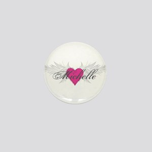 Michelle-angel-wings Mini Button
