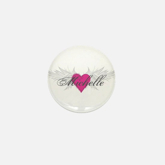 Michelle-angel-wings.png Mini Button