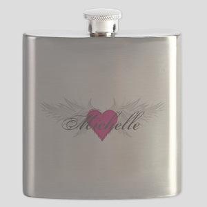 Michelle-angel-wings Flask