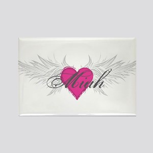 Miah-angel-wings Rectangle Magnet