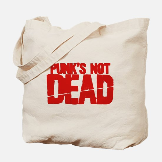 Punk's Not Dead Tote Bag