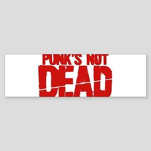 Punk's Not Dead Sticker (Bumper)