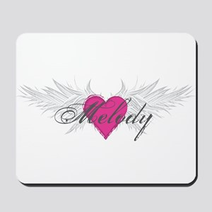 Melody-angel-wings Mousepad