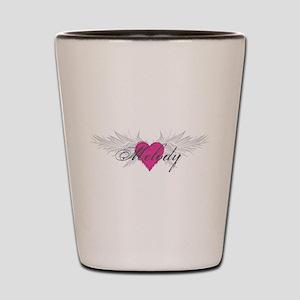 Melody-angel-wings Shot Glass