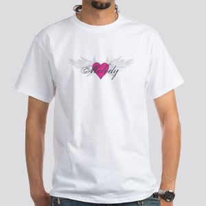 Melody-angel-wings White T-Shirt