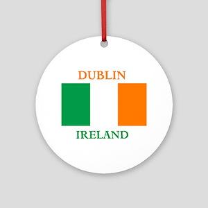 Dublin Ireland Ornament (Round)