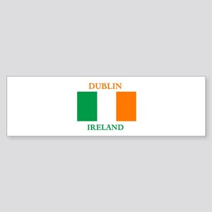 Dublin Ireland Sticker (Bumper)