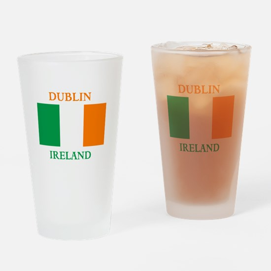 Dublin Ireland Drinking Glass