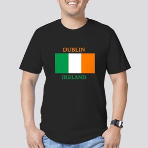 Dublin Ireland Men's Fitted T-Shirt (dark)