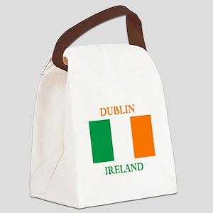 Dublin Ireland Canvas Lunch Bag