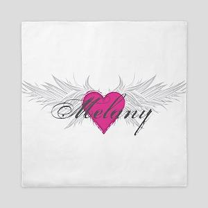 Melany-angel-wings Queen Duvet