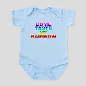 Come Taste My Rainbow Infant Bodysuit