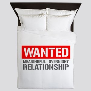 Wanted Meaningful Overnight Relationship Queen Duv