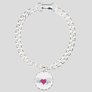 Mckenzie-angel-wings Charm Bracelet, One Charm