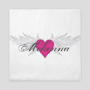 Mckenna-angel-wings Queen Duvet
