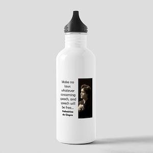 Make No Laws Whatever - de Cleyre Water Bottle
