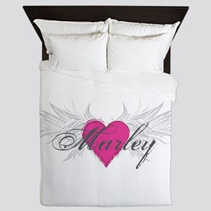 Marley-angel-wings Queen Duvet
