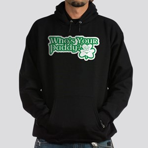 Whos Your Paddy? Hoodie (dark)