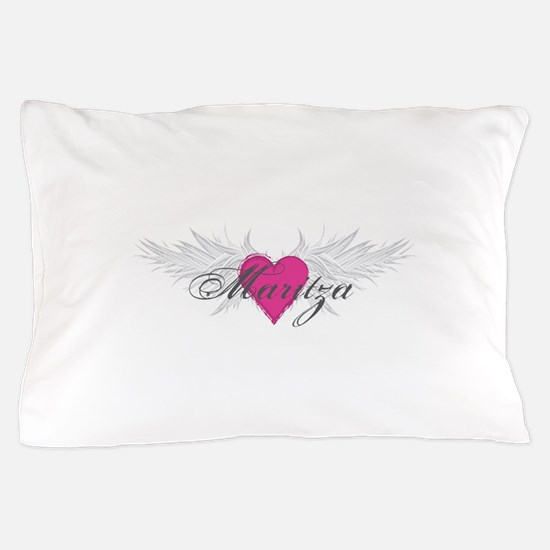 Maritza-angel-wings.png Pillow Case