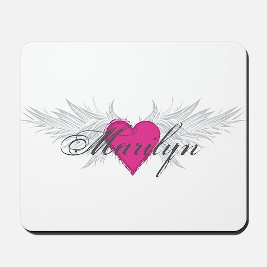 Marilyn-angel-wings.png Mousepad