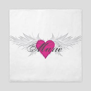 Marie-angel-wings Queen Duvet