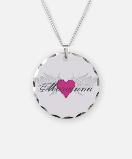 Marianna-angel-wings.png Necklace Circle Charm