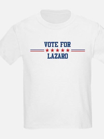 Vote for LAZARO Kids T-Shirt