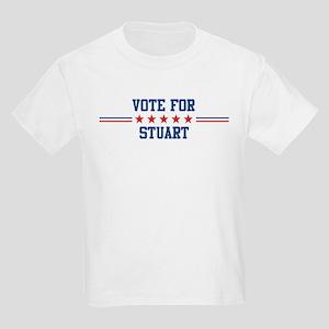 Vote for STUART Kids T-Shirt