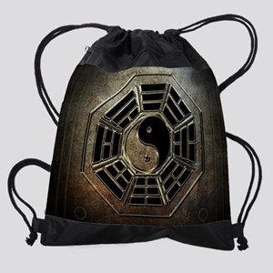 Yin Yang Bagua Drawstring Bag