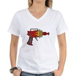 Ray Gun Women's V-Neck T-Shirt