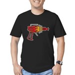 Ray Gun Men's Fitted T-Shirt (dark)