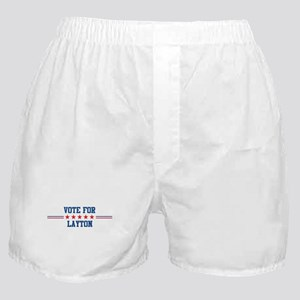 Vote for LAYTON Boxer Shorts