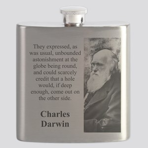They Expressed As Was Usual - Charles Darwin Flask
