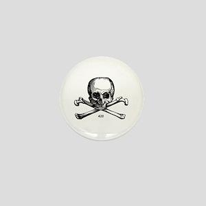 420 Pirate Mini Button