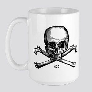 420 Pirate Large Mug