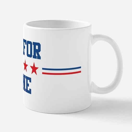 Vote for LAYNE Mug