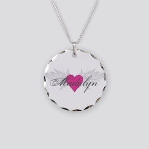 My Sweet Angel Madalyn Necklace Circle Charm