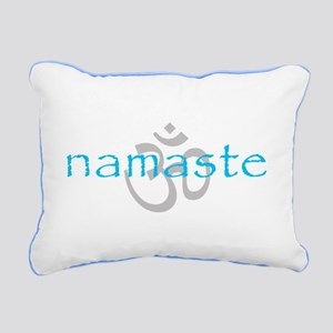 Om Namaste Rectangular Canvas Pillow