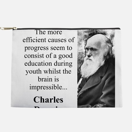 The More Efficient Causes - Charles Darwin Makeup