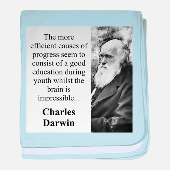 The More Efficient Causes - Charles Darwin baby bl