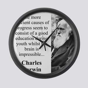 The More Efficient Causes - Charles Darwin Large W