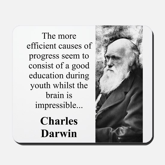The More Efficient Causes - Charles Darwin Mousepa
