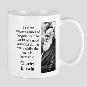 The More Efficient Causes - Charles Darwin 11 oz C